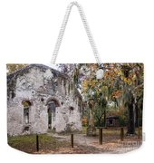 Chapel Of Ease Ruins And Mausoleum St. Helena Island South Car Weekender Tote Bag