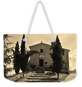 Chapel Of San Amasio Weekender Tote Bag