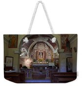 Chappel At Sirmione. Lago Di Garda Weekender Tote Bag