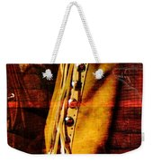 Chaps And Boots Weekender Tote Bag
