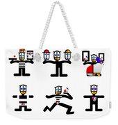 Character Act Weekender Tote Bag