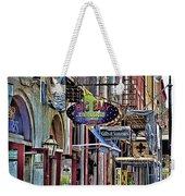 Characteristics Of New Orleans  V2 Weekender Tote Bag