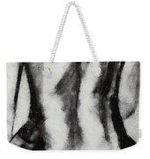 Charcoal Back Weekender Tote Bag