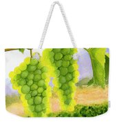 Chardonnay Grapes Weekender Tote Bag by Mike Robles