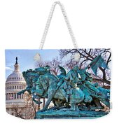 Charge On The Capitol Weekender Tote Bag
