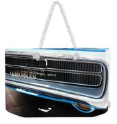Charger 500 Front Grill And Emblem Weekender Tote Bag