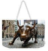 Charging Bull 1 Weekender Tote Bag