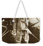 Charles A. Lindbergh And Spirit Of St. Louis May 12 1927 Weekender Tote Bag
