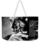 Charles Bukowski Weekender Tote Bag