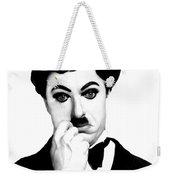 Charles Chaplin Weekender Tote Bag