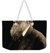 Charles Darwin By Julia Margaret Weekender Tote Bag