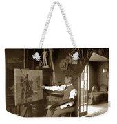 Charles Dickman Artist Monterey California Circa 1907 Weekender Tote Bag