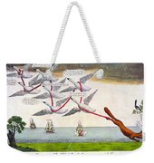Charles Fox: Cartoon, 1782 Weekender Tote Bag