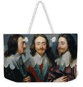 Charles I Weekender Tote Bag