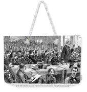 Charles Jules Guiteau (1840?-1882) Weekender Tote Bag