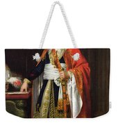 Charles Louis Francois Letourneur 1751-1817 1796 Oil On Canvas Weekender Tote Bag