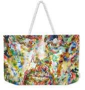 Charles Mingus Watercolor Portrait Weekender Tote Bag