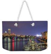 Charles River Country Club Weekender Tote Bag by Joann Vitali