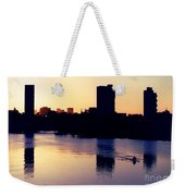 Charles River Rower At Dawn Weekender Tote Bag by Kenny Glotfelty