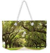 Charleston Avenue Of Oaks Weekender Tote Bag