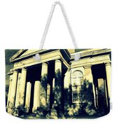 Charleston Church In Black And White Weekender Tote Bag