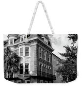 Charleston Corner Charleston Sc Weekender Tote Bag by William Dey