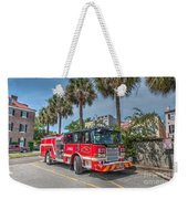 Charleston Fire Dept  Weekender Tote Bag