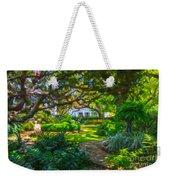 Charleston Sc Gardens Weekender Tote Bag