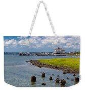 Charleston Harbor Weekender Tote Bag