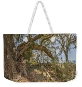 Charleston Oak Stairway Weekender Tote Bag