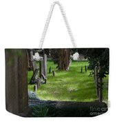 Charleston Sc Graveyard Weekender Tote Bag