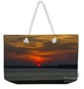 Charleston Sc Sunset Weekender Tote Bag