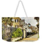 Charleston Sidewalk Weekender Tote Bag