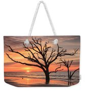 Charleston South Carolina Edisto Island Beach Sunrise Weekender Tote Bag
