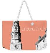 Charleston St. Phillips Church - Salmon        Weekender Tote Bag