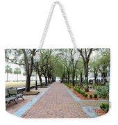 Charleston Waterfront Park Walkway Weekender Tote Bag