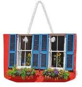 Charleston Windows Weekender Tote Bag