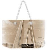 Charleston's Arthur Ravenel Jr. Bridge Weekender Tote Bag