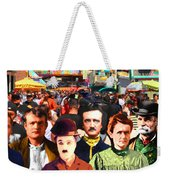 Charlie And Friends Tries To Blend In With The Crowd 5d23867 Weekender Tote Bag