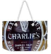 Charlie's Own Weekender Tote Bag