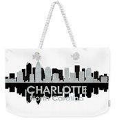 Charlotte Nc 4 Weekender Tote Bag