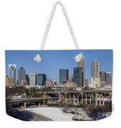 Charlotte Snow Weekender Tote Bag