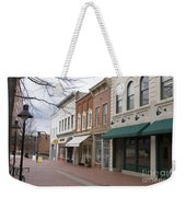Charlottesville Virginia Downtown Mall Weekender Tote Bag