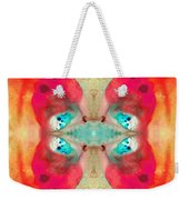 Charmed - Abstract Art By Sharon Cummings Weekender Tote Bag