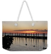 Charming Eveninglight Over Key Largo Weekender Tote Bag