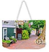Charming Nantucket Weekender Tote Bag
