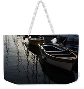 Charming Old Wooden Boats In The Harbor Weekender Tote Bag
