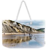 Charmouth Beach Weekender Tote Bag