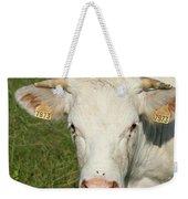 Charolais Cow Weekender Tote Bag