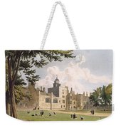 Charter House From The Play Ground Weekender Tote Bag